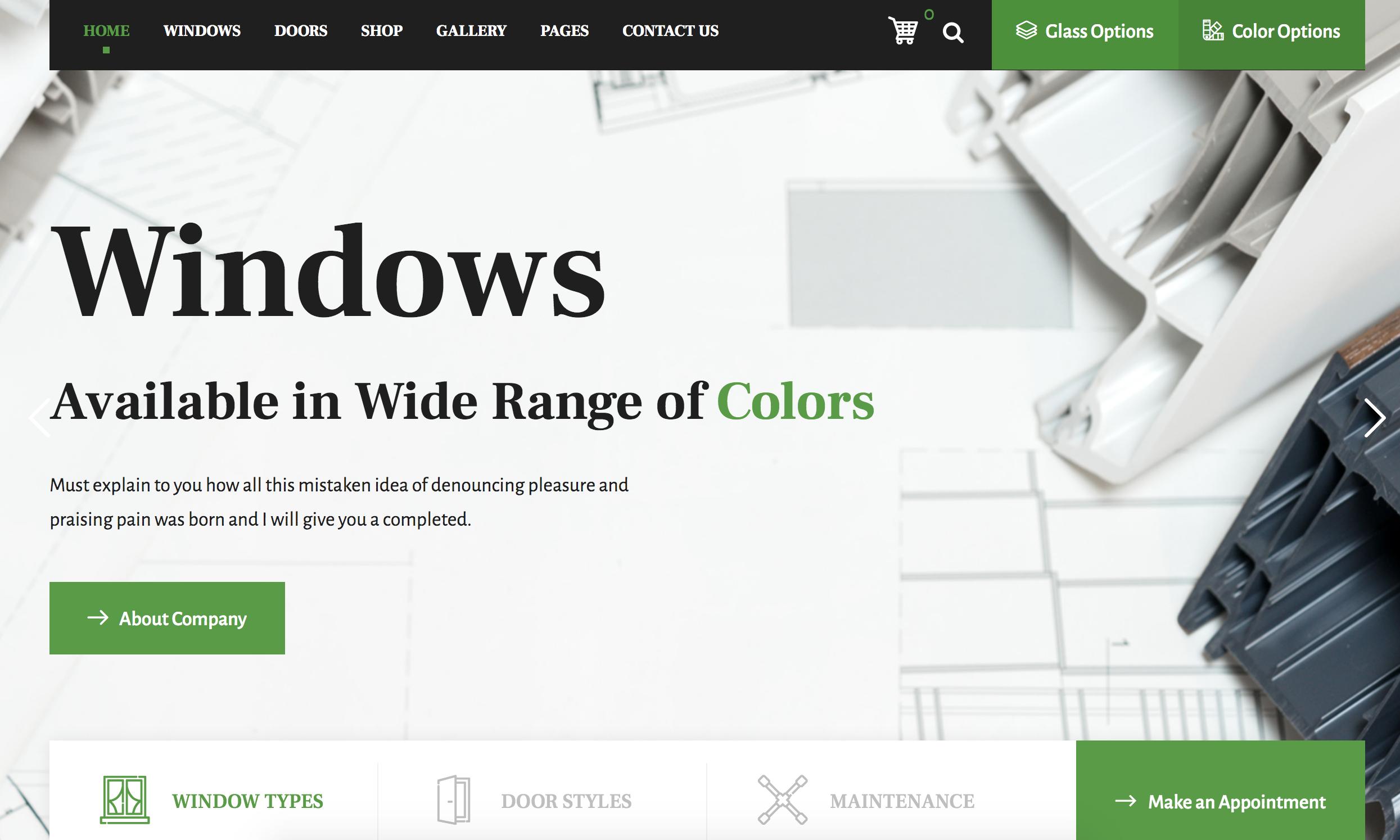 Windows Glass Website We Build